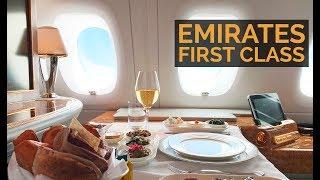 EMIRATES A380 FIRST CLASS - Dubai-Sao Paulo