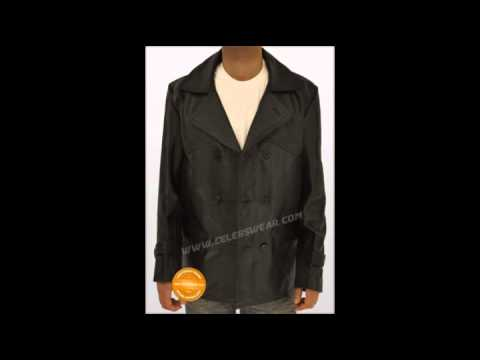 WWII Dr Doctor Who German Leather Long Jackets Coats for ...