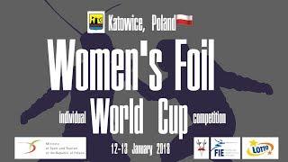 Women's Foil World Cup - Katowice 2018, Poland