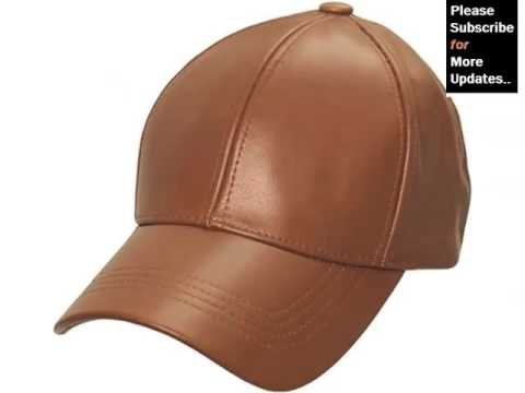 Leather Hat Picture Collection Set For Ladies  888d3791172