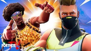 The *RANDOM* SKIN CHALLENGE In Fortnite Battle Royale! Drift vs Funk Ops! Fortnite Short Film
