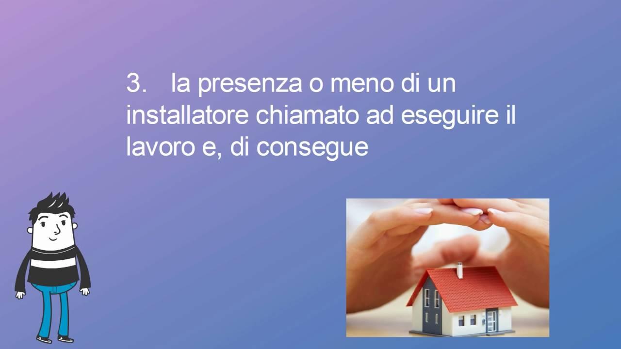 I prezzi degli impianti di allarme per la casa piccolo vademecum youtube - Allarme per casa prezzi ...