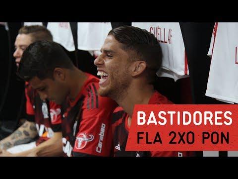 Bastidores | Flamengo 2x0 Ponte Preta