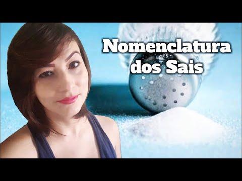 Aula 78 - NOMENCLATURA dos SAIS (Sal Duplo ou Misto) - Parte 6/7 (Prof. Michelle Leal)