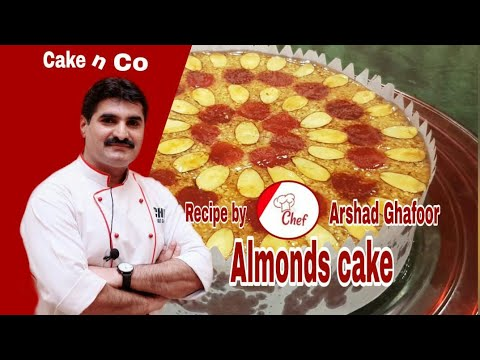 Almond Cake  Recipe By Cake N Co