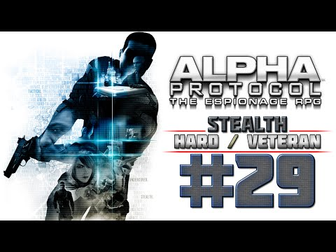 Alpha Protocol Walkthrough (4k PC) HARD / VETERAN - Part 29 - TAIPEI - Grand Hotel