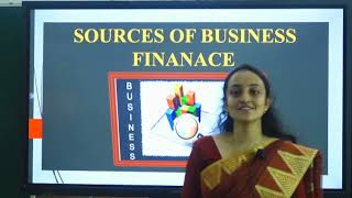 I PUC   BUSINESS STUDIES   SOURCES OF BUSINESS FINANCE  - 2
