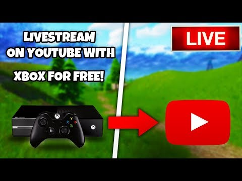 How To *LIVESTREAM ON YOUTUBE* With Xbox One For Free! (NO CAPTURE CARD/PC!)