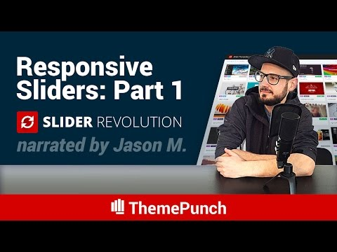 Slider Revolution Responsive Setup Part 1: Layers Grid Sizes