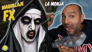 🎃 MAQUILLAJE FX HALLOWEEN 2018 🎃The Nun make up  💄Jordi disfraza y maquilla a Bego