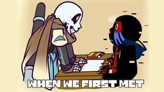 Als wir das erste treffen - Undertale AU Animierte