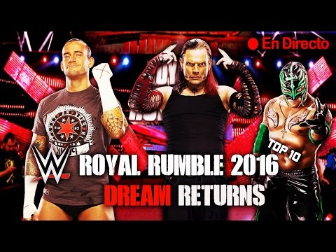 WWE: ROYAL RUMBLE 2016 (EN VIVO)