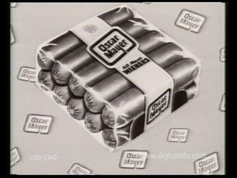 Oscar Mayer Wieners - Vintage TV Commercial
