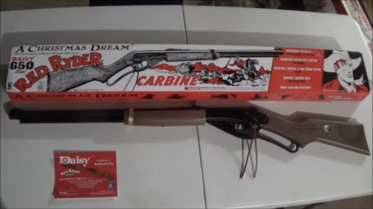 A Christmas Story Red Ryder BB Gun 30th anniversary DOUBLE ...