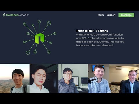 Interview with Switcheo: a Decentralized Exchange for Neo