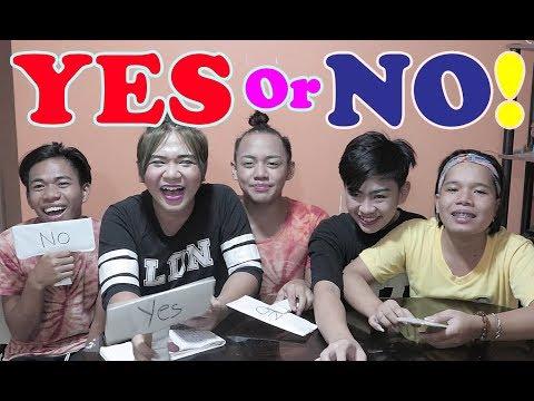 YES or NO CHALLENGE! (VIRGIN pa ba ang BNT? HA HA HA)