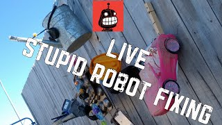 Live Stupid Robot Fixing | Stupid Robot Fighting League
