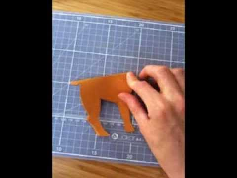 Scissors Paper Craft Woodland Animals One Of Thirty Ways With