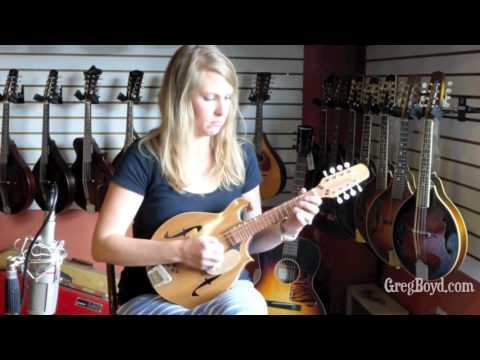 Rachel Penner plays Liberty on a Blues Hardware B Mandolin