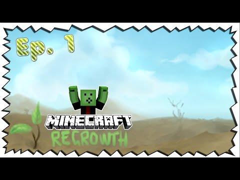 """Minecraft REGROWTH - """"Willkommen im Ödland"""" - Ep.01"""