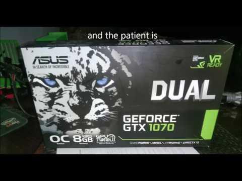 How To Fit Asus Dual GTX1070 To NZXT G12 Kraken GPU Adapter