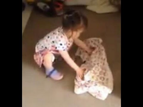 69c9355b0ffd 18 Month Old Putting On A Jacket By Herself - Montessori Way - YouTube