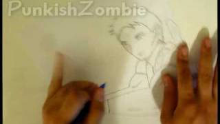 How To Draw Chris Redfield (Manga) - PunkishZombie