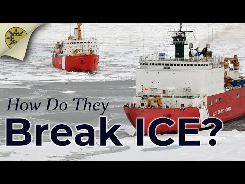 How Do Icebreakers Break Ice?