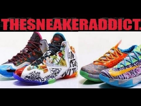 new concept a42cc 59738 Nike Lebron 11 WHAT THE LEBRON + KD 6! Dj Delz Sneaker Podcast - YouTube
