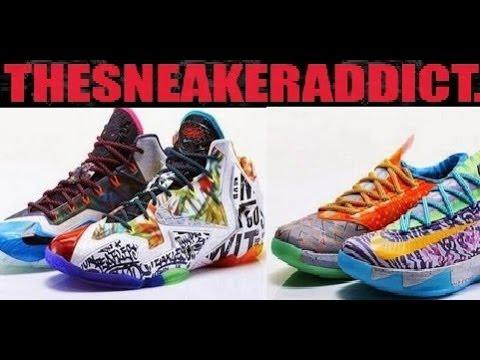 Nike Lebron 11 WHAT THE LEBRON + KD 6! Dj Delz Sneaker Podcast - YouTube