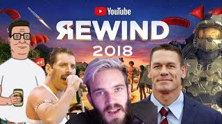 YouTube Rewind 2018, but every CRINGE is Blacked Out