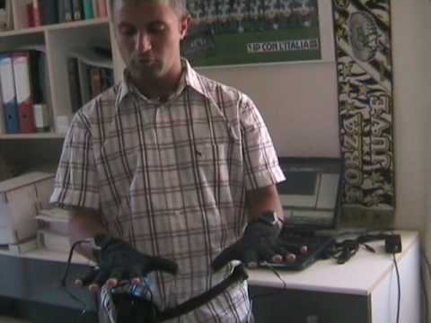 Applications with data glove (May 2007)