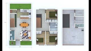 Casas Pequeñas Modernas Interiores 1