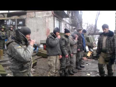 Пленные украинцы и
