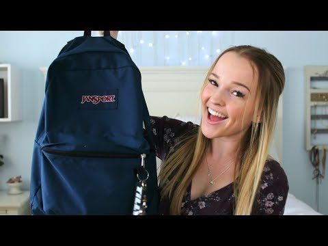 WHAT'S IN MY BACKPACK 2018 (School's Out Senior Edition)