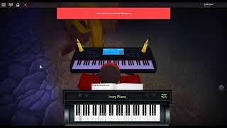 Davy Jones Theme - Pirates of the Carribean par: Hans Zimmer - Klaus Badelt sur un piano ROBLOX.