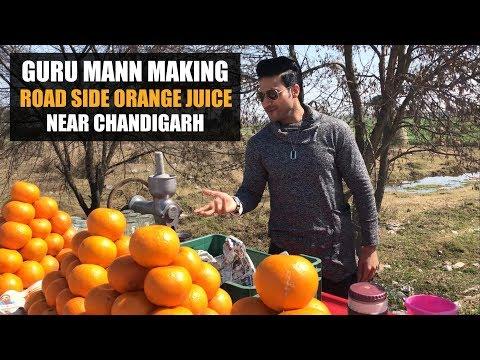 Sneak Peek - Guru Mann making Road Side Orange Juice near Chandigarh (INDIA)