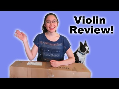 Unboxing and Review (by a music major) - Kaizer Student Violin 1000 Series