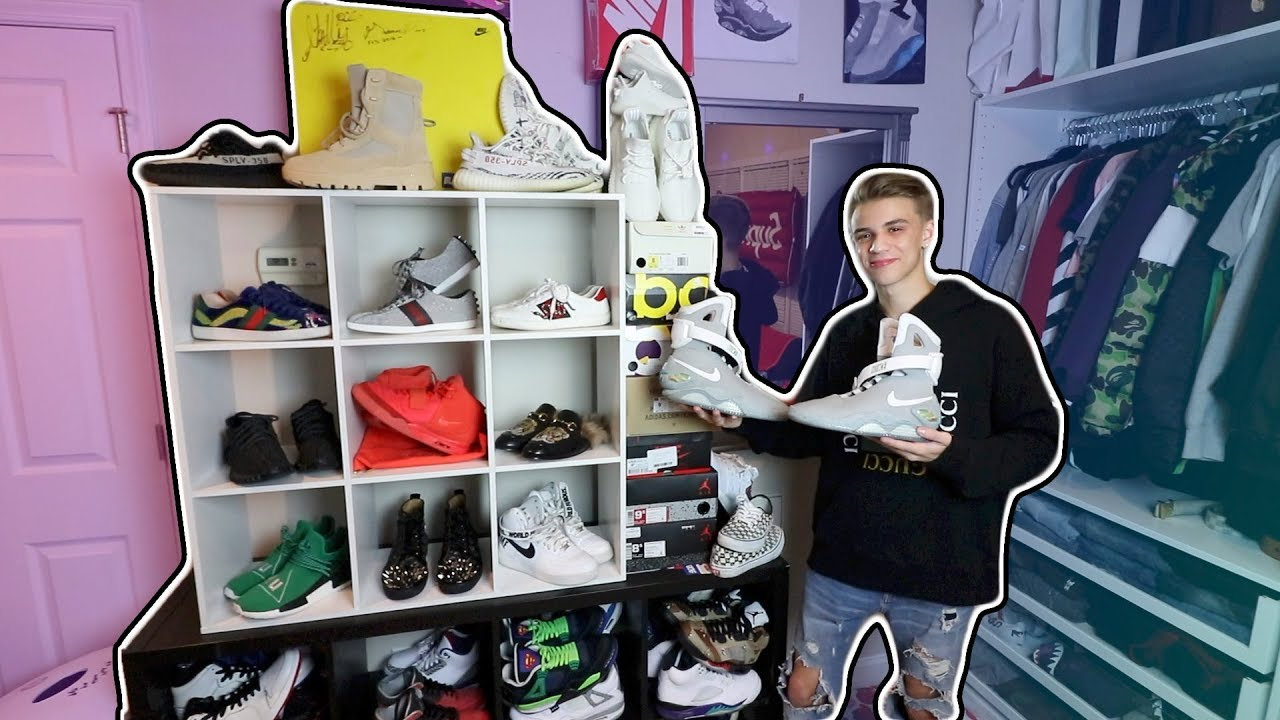 e00b09e2df5a7 MY ENTIRE SNEAKER COLLECTION!! (NIKE