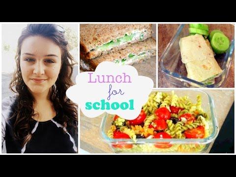 bts#2 - recette 3 lunch pour l'école/le travail ! - youtube