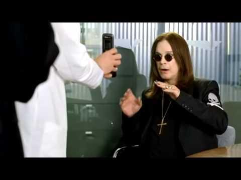 Ozzy Osbourne Meets the New Samsung Alias 2 Cell Phone