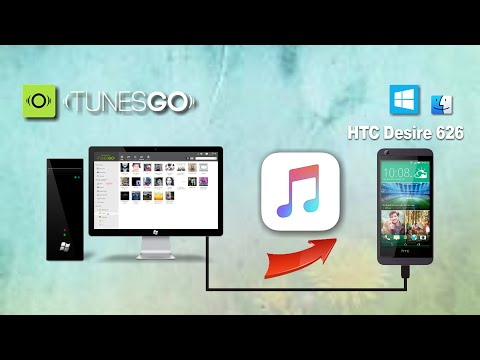 How to Transfer Music from Windows to HTC Desire 626, Import Songs to HTC Desire 626