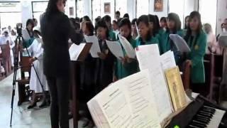 Lagu Anak Domba Allah dlm Misa Requiem sr. M. Valentina FCh. Minggu 20 November 2011