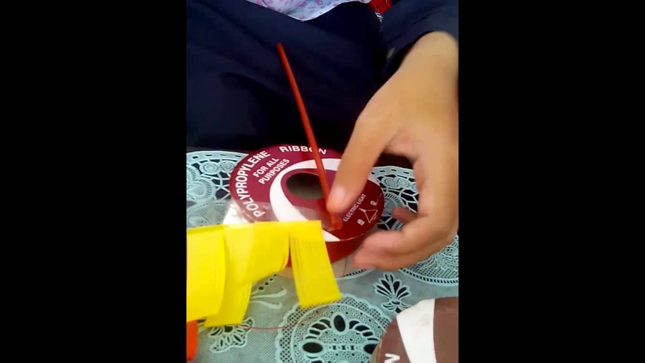 Cara Membuat Bunga Menggunakan Pita Jepang