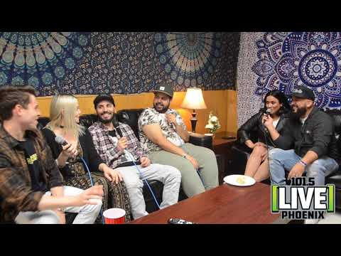 Cash Cash Interview W/ The Morning Mess & Jeana