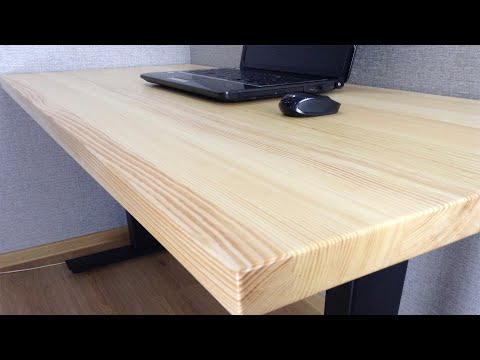 ✅ Компьютерный стол своими руками  Metal & Wood Computer Desk