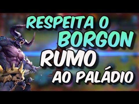 BORGON - JOGANDO O FINO DO FINO (HEROES EVOLVED MOBILE RANKED GAMEPLAY)