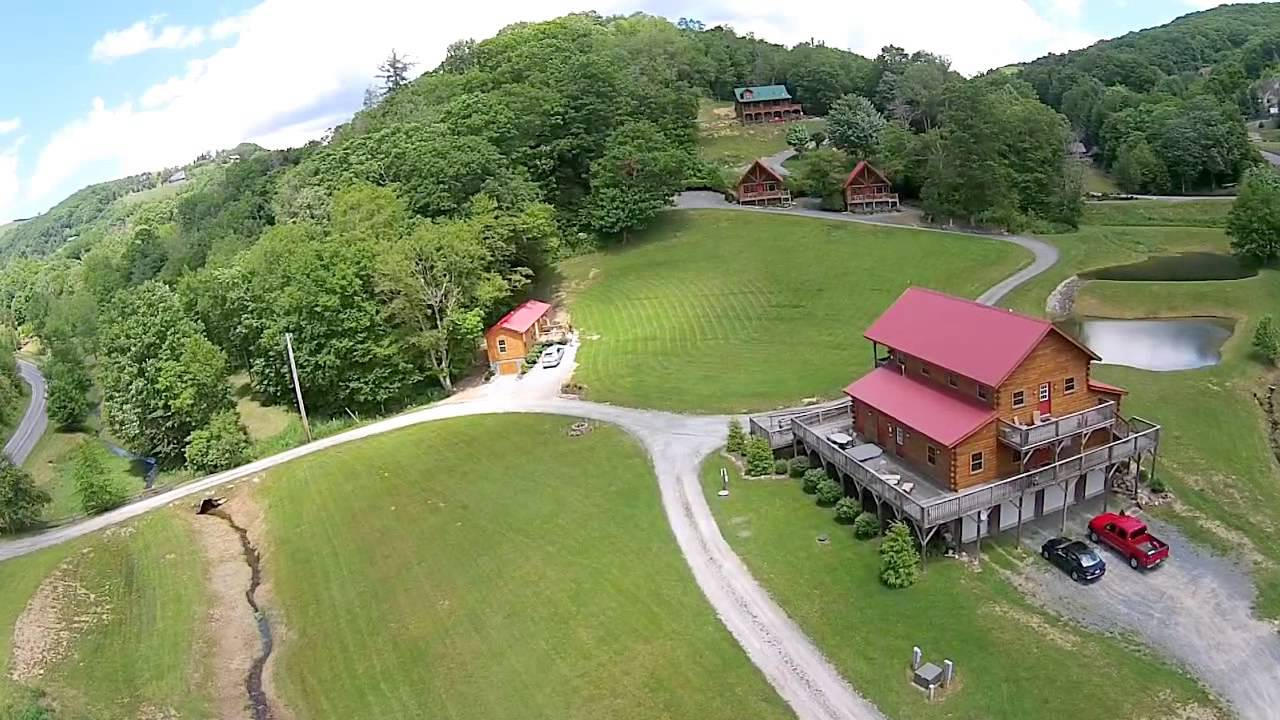 rental asheville eagle nest watch cabin s cabins north youtube near carolina nc