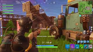 Fortnite | Nah PS4 doesn't have aim assist o.O