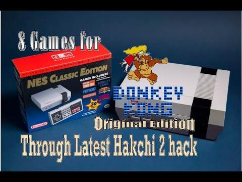 Testing 8 NES CEM Games Through the Updated Hakchi 2 hack